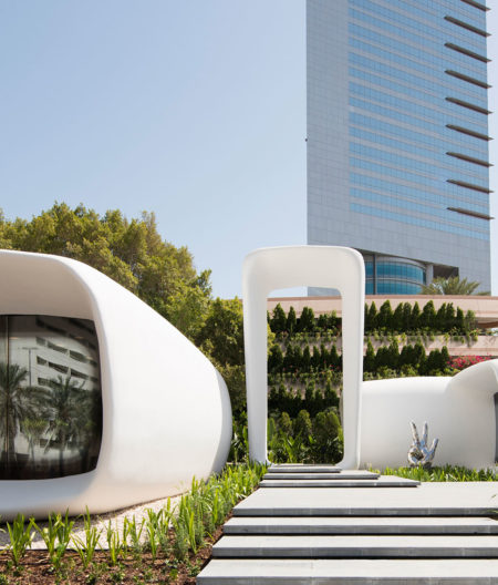 3D printed government office Dubai