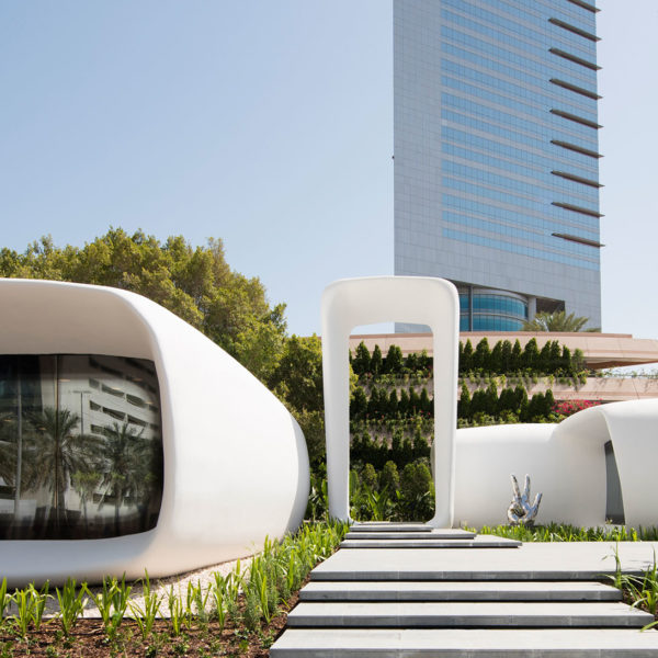 3D printed government office Dubai