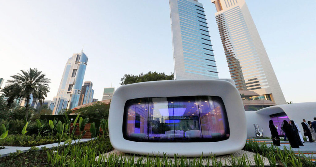 Government Office 3D Printed in Dubai
