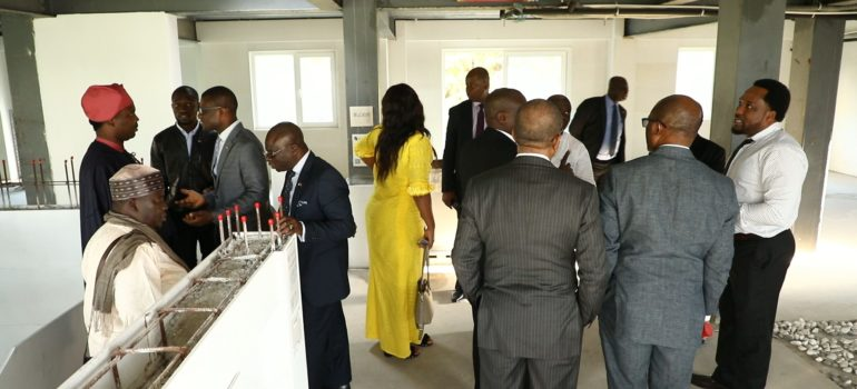 African delegation 3D Printing Tour in China